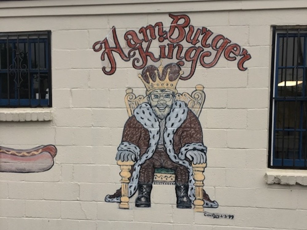 Hamburger King Building Logo