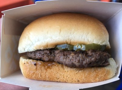 1921 Slider is a return To Fresh Beef for White Castle