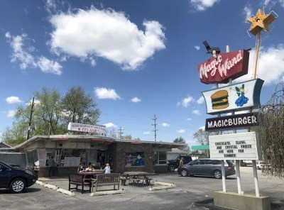 Burgers, Coneys & Clowns at Magic Wand in Churubusco