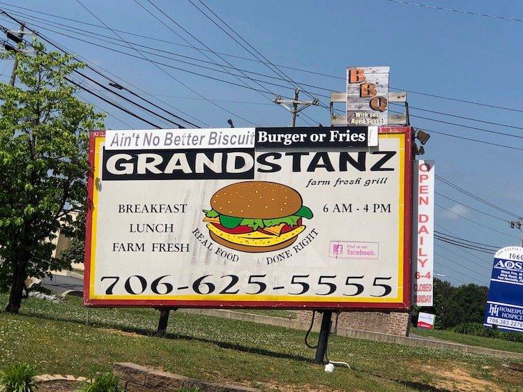 Grandstanz Billboard