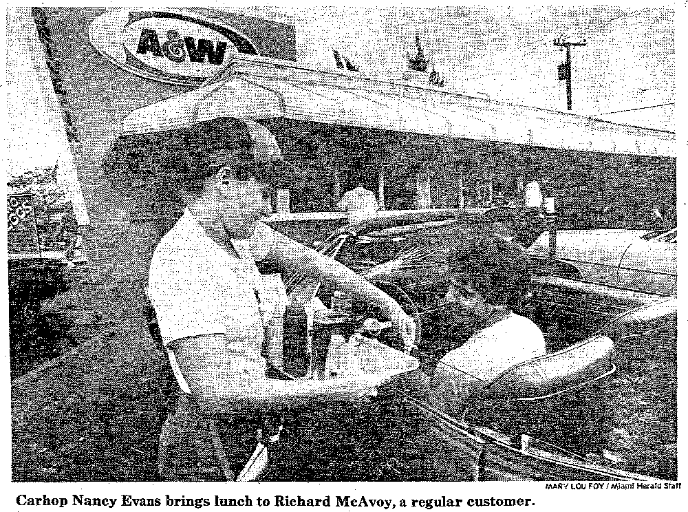 A&W in the MiamiHerald - December 1982