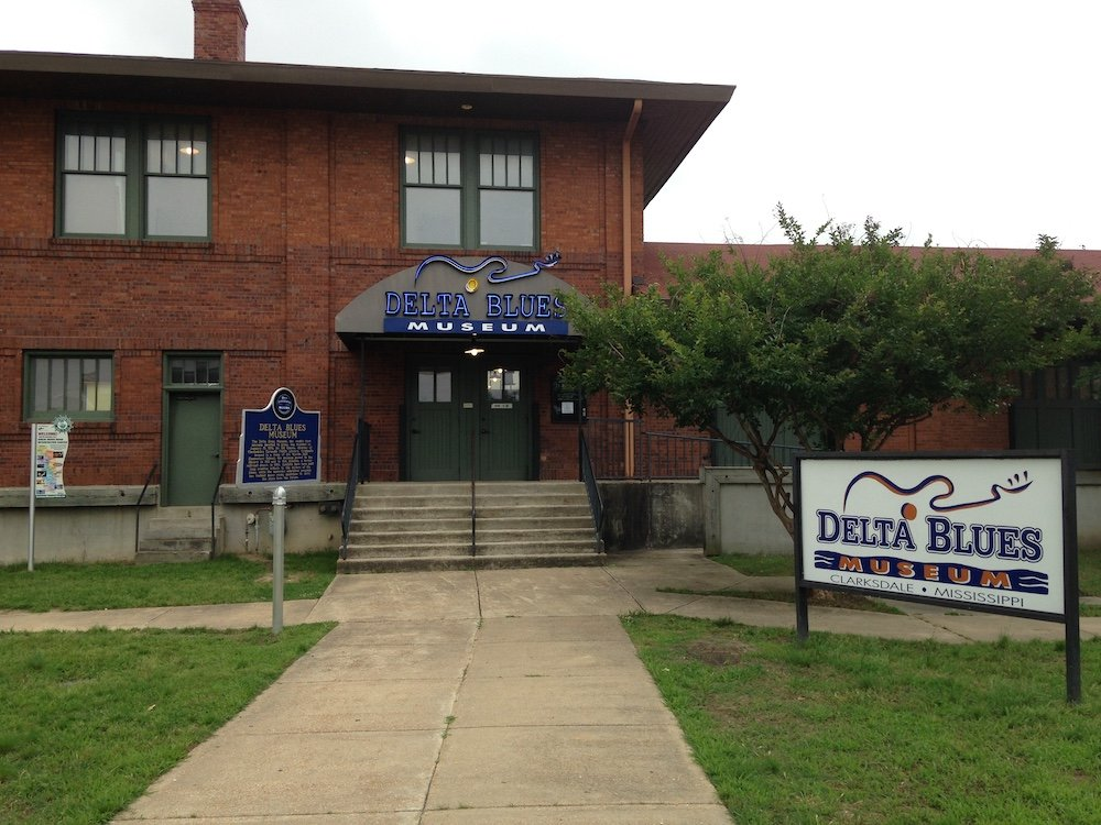 Delta Blues Museum in Clarksdale, Mississippi