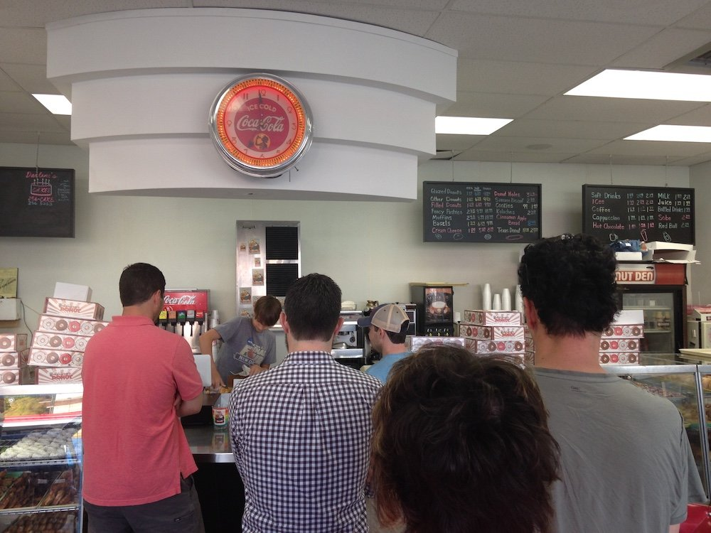 The Line at Fox's Donut Den