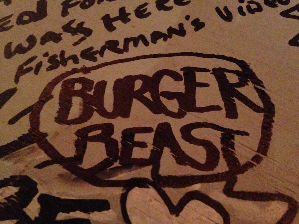 Burger Beast Graffiti