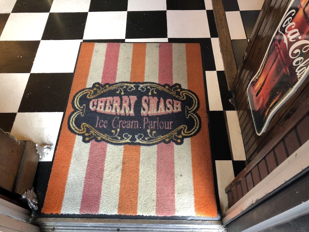 Cherry Smash Entrance Mat