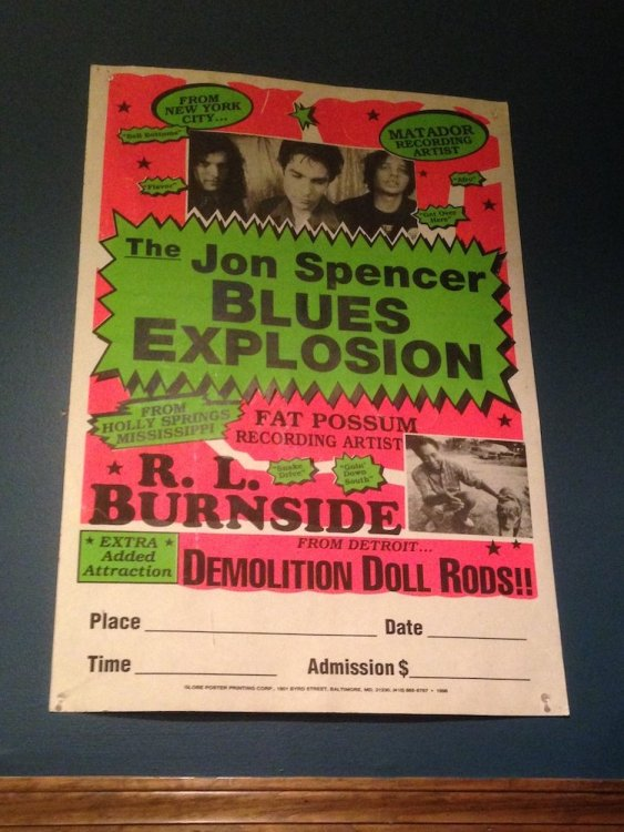 Jon Spencer Blues Explosion Poster