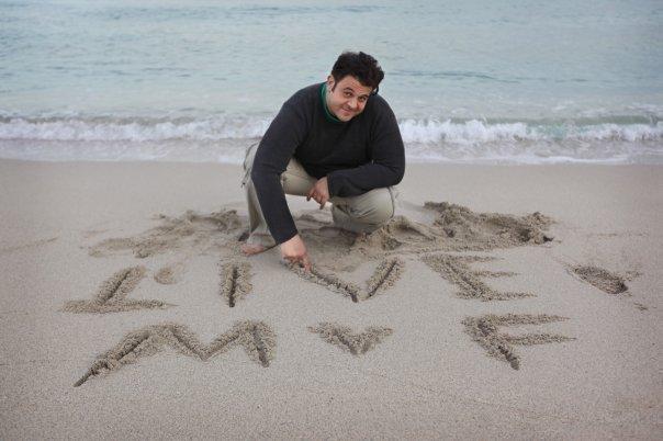 Man v. Food Live Promo Sand Pic