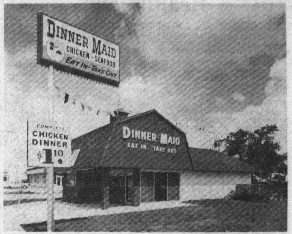 Dinner Maid - The Miami News January 17, 1967