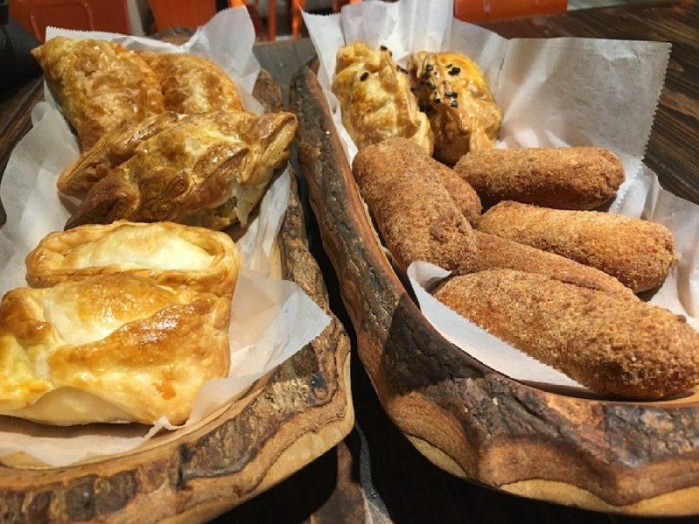 A selection of Empanadas & Croquetas