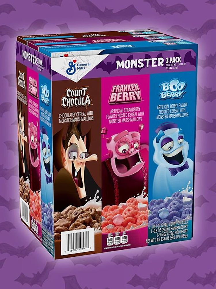 Monster Cereal 3 Pack for Halloween