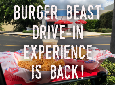 Are you hungry for a Burger Beast Drive In this Friday?