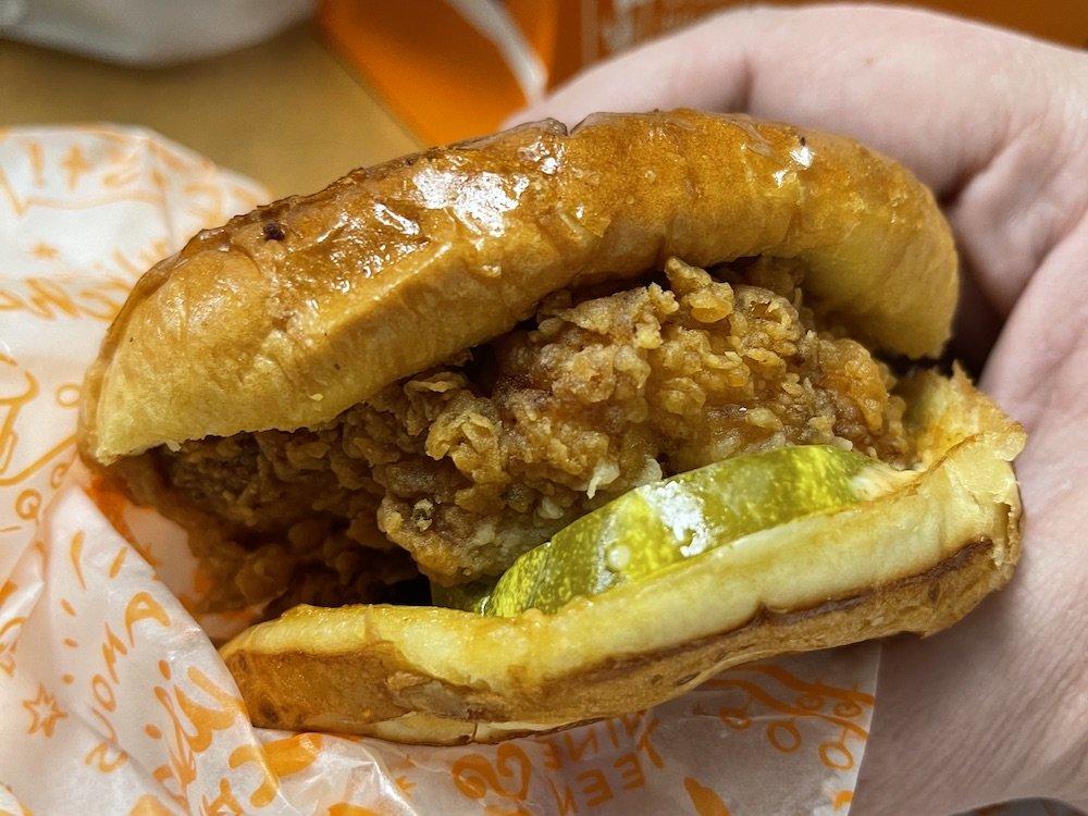 Popeyes Spicy Chicken Sandwich