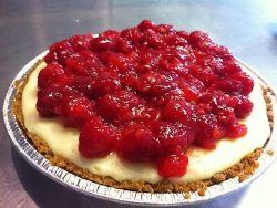 Fireman Derek's NY-style Cheesecake