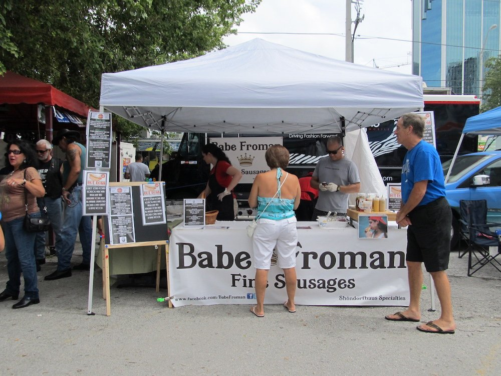 Babe Froman at Hot Dog Fest 2013