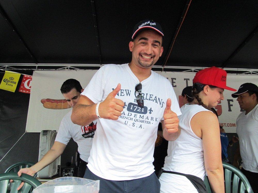 Hot Dog Fest Eating Champ for 2013 is Omar