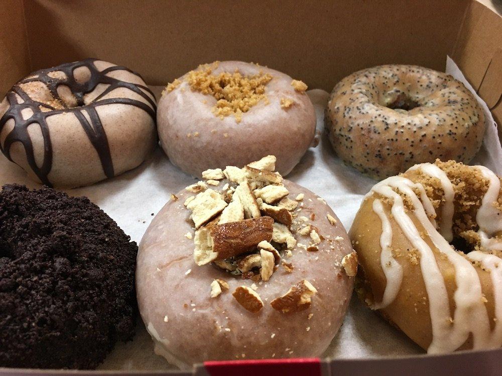 Box of Fancy Donuts