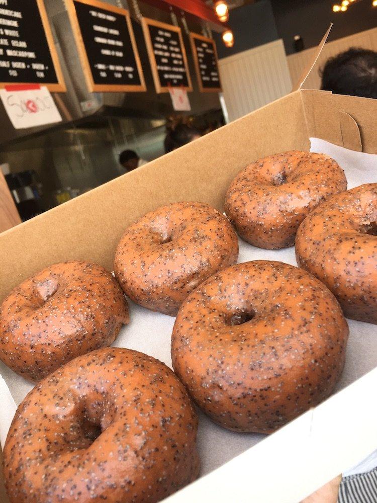 Guava Poppy Donuts