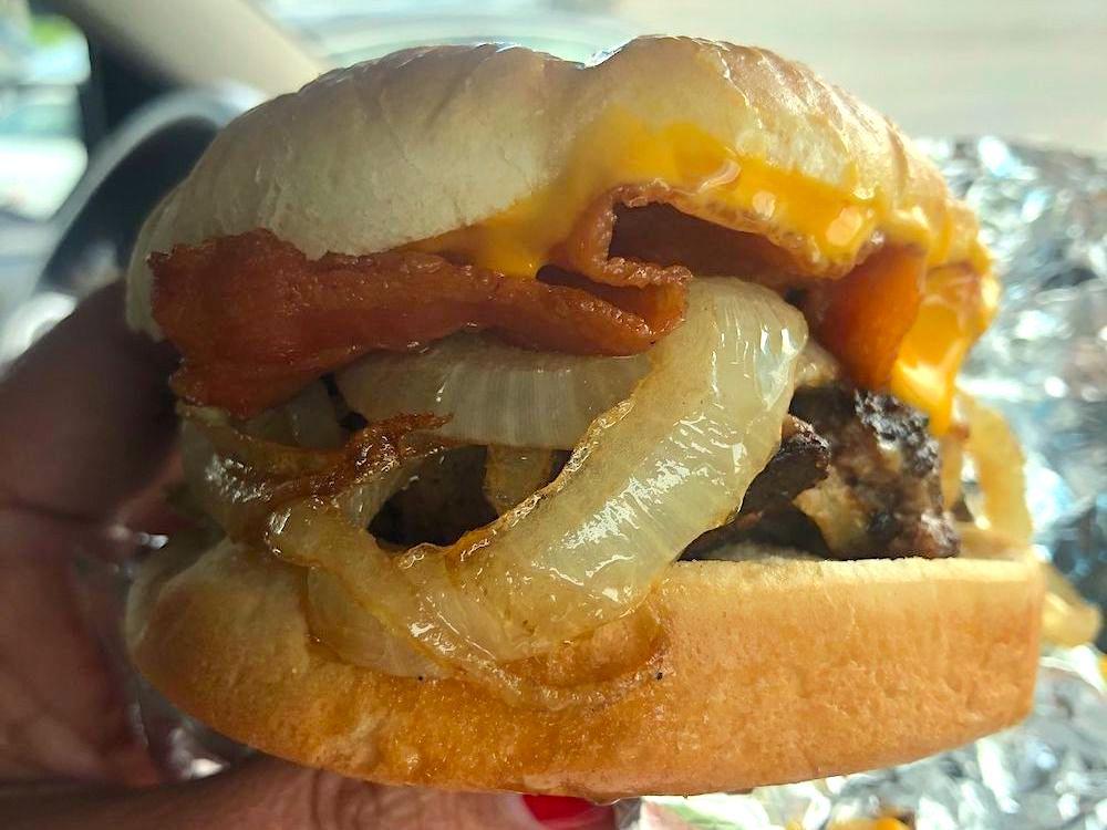 Cook Out Bacon Cheeseburger