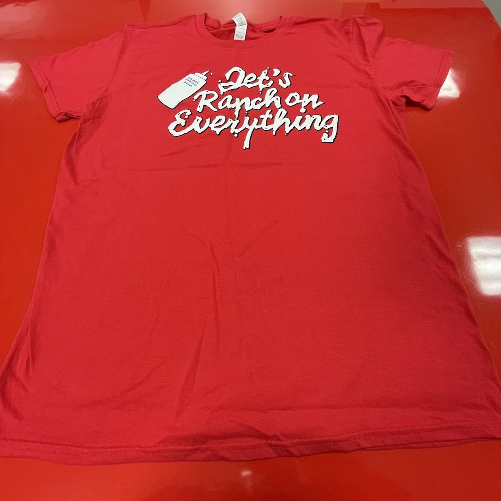 Jet's Pizza - Jet's Ranch on Everything Full T-shirt