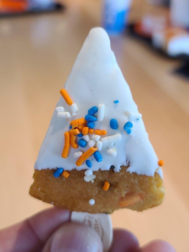 White Castle Birthday Cake on a Stick