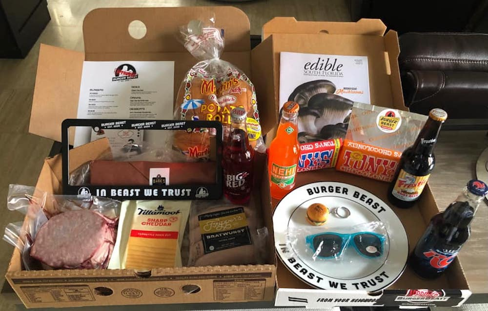 Father's Day Burger Beast Box 2021