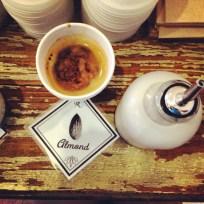Menotti's Americano with Almond Milk