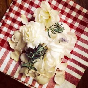 White Rose Petals for Jam