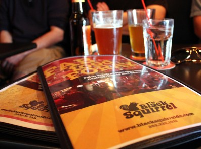 One menu for food. One menu for beer. How it was meant to be.