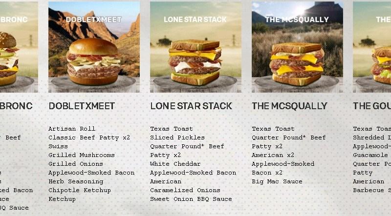 McDonald's Lone Star Stack