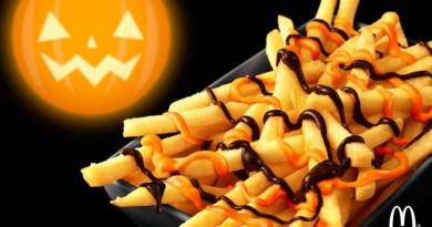 McDonald's Pumpkin Chocolate Fries