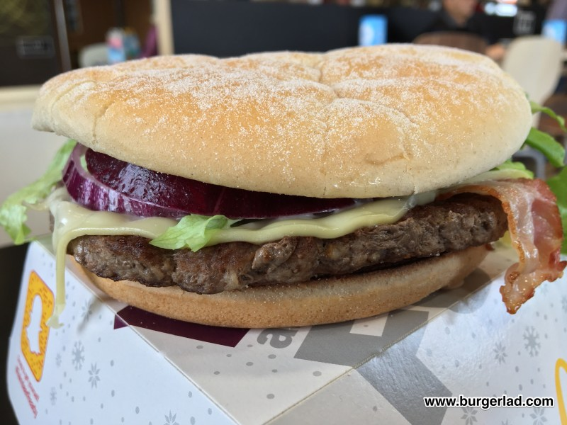 McDonald's Beef and Cheese Feast