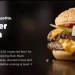 McDonald's Double Quarter Pounder UK