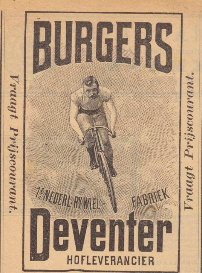 Burgers ENR Aadvertentie marten kingma 1900