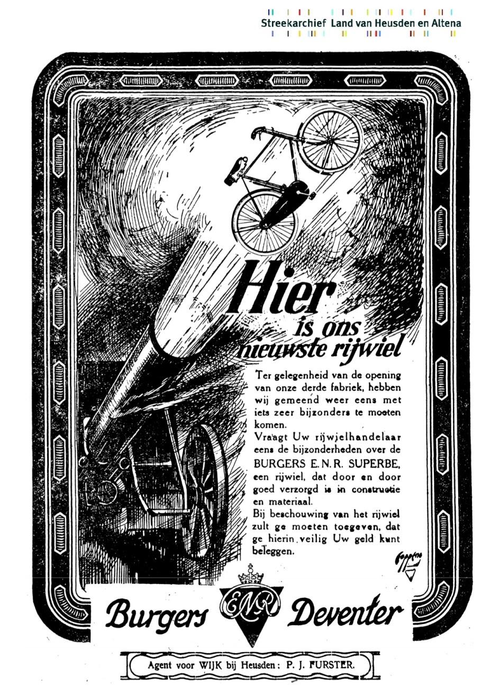 Advertentie Burgers. Nwsblad heusen en altena -1924-03-12