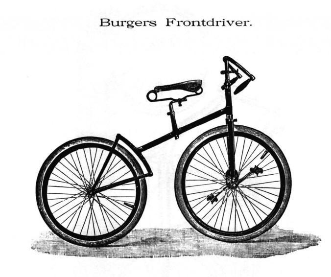 Burgers Frontdriver, catalogus 1893