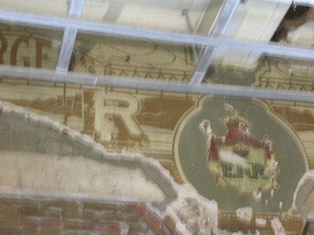 Burgers muurschildering