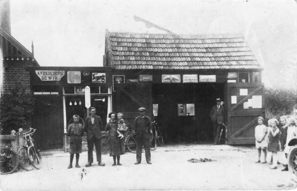 werkplaats garage Vosseberg jaren '30