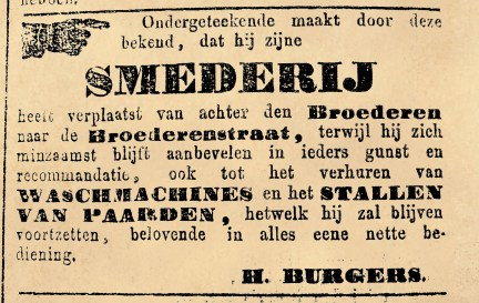 Advertentie Deventer courant 26 juni 1868.