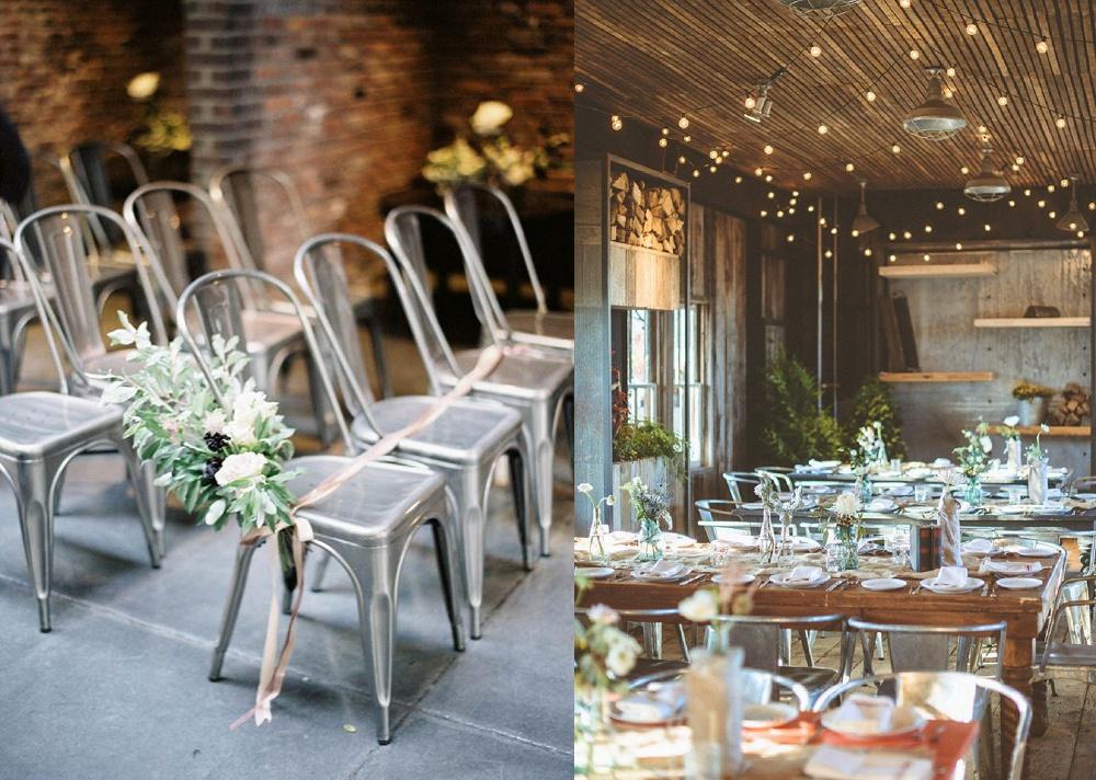 Industrial Chic Wedding Ideas
