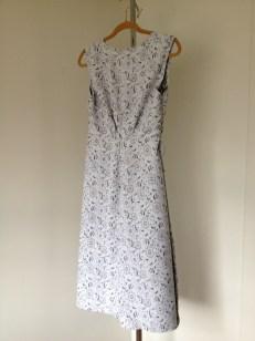 Patio Wrap Dress, back