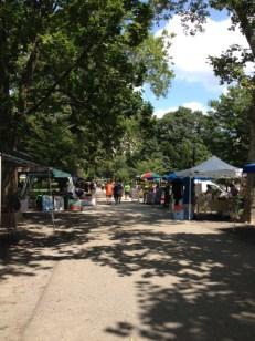 Cedar Arts Market at Deutschtown Music Festival, Before the Music