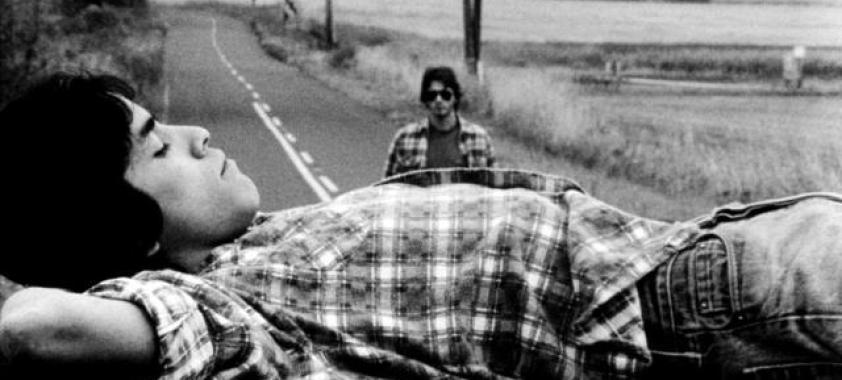 MALA NOCHE, (aka BAD NIGHT), Doug Cooeyate (foreground), Tim Streeter (background), 1985. ©Janus Films