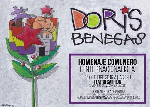 Homenaje Doris Benegas