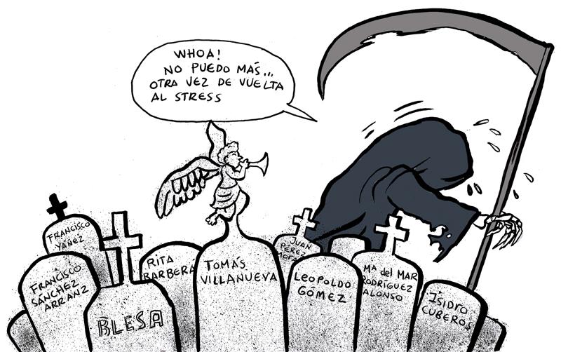 las muertes de la Gürtel
