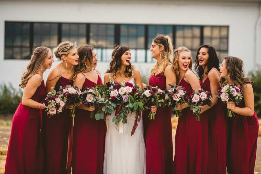 Your Perfect Guide To An Effective Organization Of A Literary Burgundy Themed Wedding Ceremony To Make Your Day Special (2021)