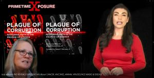DR JUDY MIKOVITS, AUTHOR OF 'PLAGUE OF CORRUPTION', REVEALS INFO ABOUT CANCER, VACCINES, ANIMAL VIRUSES, FACE MASKS & DISEASE