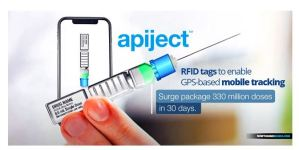 DOD AND HHS AWARD $138 MILLION CONTRACT TO ApiJect Systems TO PROVIDE PREFILLED COVID-19 VACCINE SYRINGES WITH RFID MICROCHIP TRACKING SYSTEM