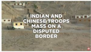 "China Must ""Prepare for War:"" Xi Jinping.  India and China Military Build Up On Disputed Border."