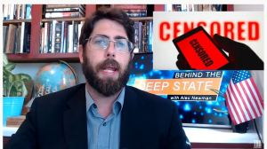 "Exploiting COVID, Social Media Silences Dissent:  In this episode of Behind the Deep State, host Alex Newman exposes the escalating efforts by Deep State social media companies (Youtube, Facebook, Google, Twitter, etc) to silence all dissent and everyone who exposes the establishment's lies. YouTube announced that everything going against World Health Organization propaganda would be removed. Facebook created a ""Supreme Court"" run largely by George Soros hacks to determine what can be said on the platform. Now the UN and Bill Gates stooges in Event 201 are demanding global censorship. Fortunately, Americans are searching for the truth, and the Deep State's efforts to squash it are running into growing resistance as people and content migrate to new platforms."