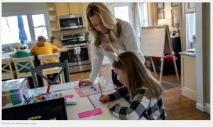 More than 40% of families say they are more likely to homeschool after lockdowns end!